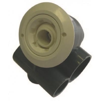 Форсунка гидромассажная (d.50х32) из белого ABS - пластика