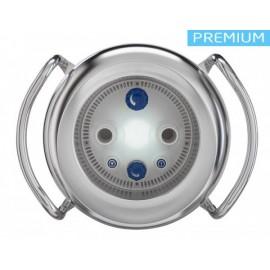 Противотечение BADUJET PRIMAVERA производительностью 85 м3/час с белой LED подсветкой. Насос 400V, потребляемая P=4,67 кВт