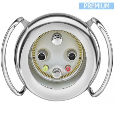 Противотечение BADUJET PRIMAVERA DELUXE производительностью 85 м3/час с RGB LED подсветкой. Насос 400V, потребляемая P=4,67 кВт