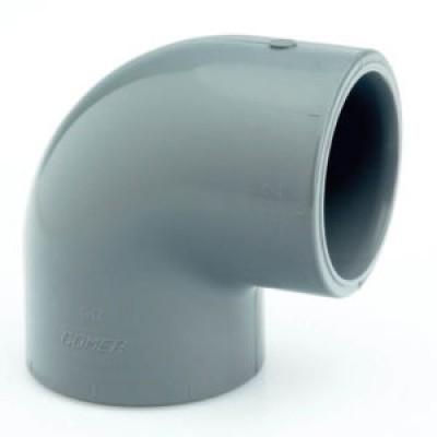Колено EL50, 90° 50 мм