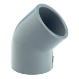 Колено EY50, 45° 90 мм