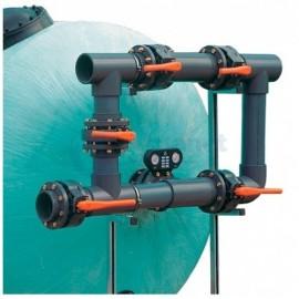 5-ти крановая обвязка фильтра, D160 мм