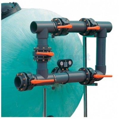 5-ти крановая обвязка фильтра, D125 мм