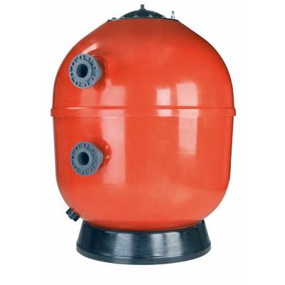 Фильтр ламинированный VESUBIO без вентиля (боковой тип подключения, выход 110 мм.) D1600 мм., 60//80 м3/ч, 30//40 м3/ч/м2, 2,5 бар