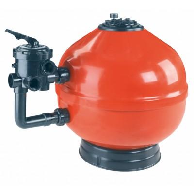 Фильтр ламинированный Astral Vesubio D500 мм., 9 м3/ч с вентилем (боковое подкл)