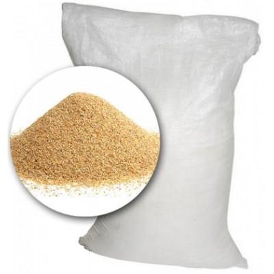 Песок кварцевый 0,8-1,2 мм, 25 кг