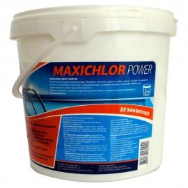 Таблетки для дезинфекции MAXI CHLOR POWER, 1 кг