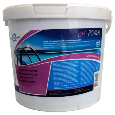 Гранулы для снижения pH- POWER, 5 кг