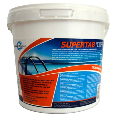 Таблетки SUPERTAB POWER, 1 кг