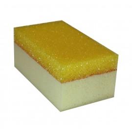 "Губка двусторонняя ""Cellulosa"" для уборки эпоксидных затирок 16х9 см"