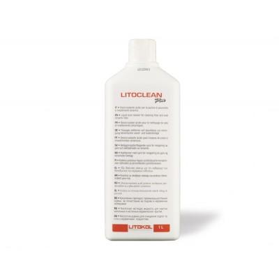 Кислотная жидкость на основе органической кислоты для очистки керамических поверхностей LITOCLEAN PLUS, 5 кг