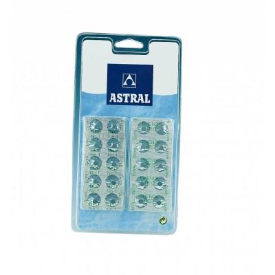 Таблетки для Pooltester plastic box (в комплекте 20 табл. DPD1 и 20 табл. PhenolRed)