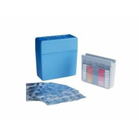 Pooltester plastic box для измерения рН и хлора/брома (в комплекте 10 табл. DPD1 и 10 табл. PhenolRed)