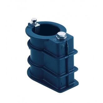 Закладной элемент для монтажа лестницы под трубу 43 мм (пластик)