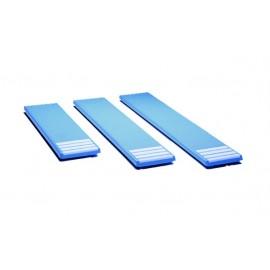 Доска прыжковая, L=2300 мм., ширина 0,40 м., стеклопластик