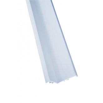 Профиль под монтаж переливной решетки 24х37 мм., L=2000 мм.
