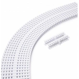 Модуль переливной решетки ANTISLIP, 22x195 мм, пластик
