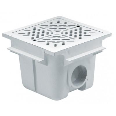 "Слив донный 210х210 мм., бетон, подкл. в.р. 2"""