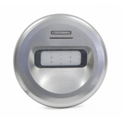 Светильник LUMIPLUS DESIGN WHITE, 45W, ABS ABS-пластик (INOX эффект)